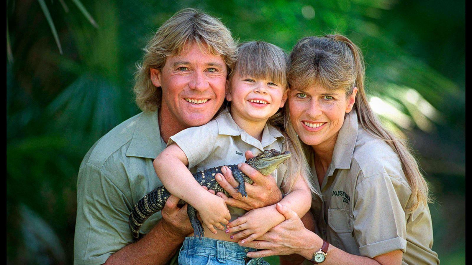 how crocodile hunter steve irwin s kids widow are following in