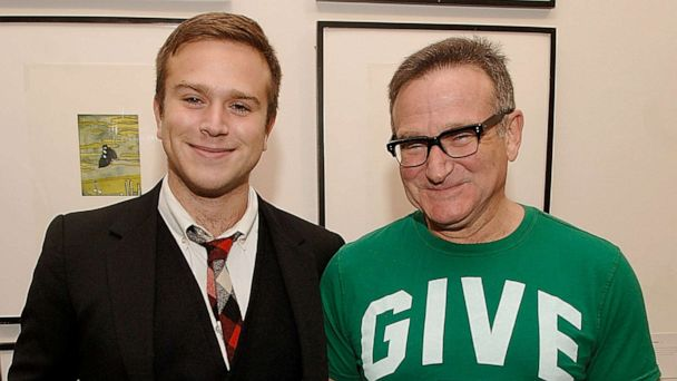 Robin Williams' son Zak honors comedian by naming son after him