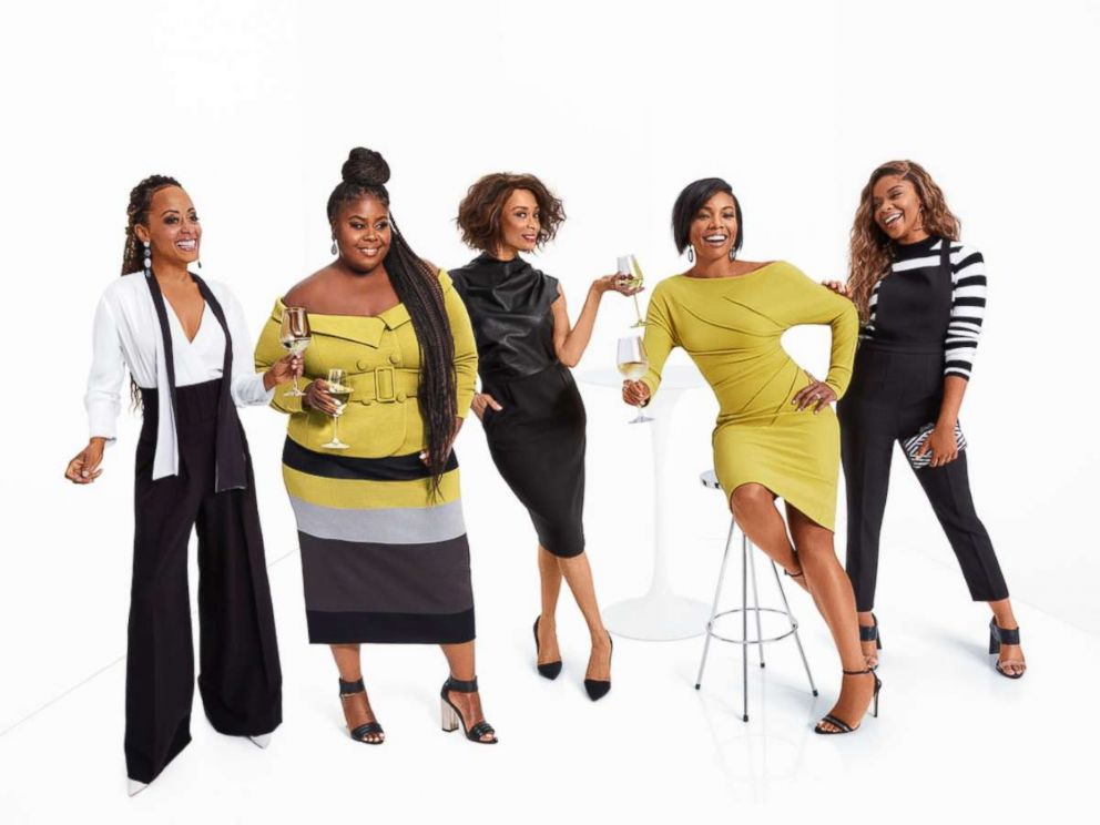 PHOTO: Gabrielle Union teamed up with Raven Goodwin, Ajiona Alexus, Essence Atkins and Valarie Pettiford to promote her #AllTogetherNow message.