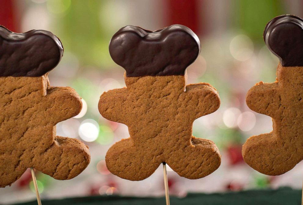 PHOTO: The Gingerbread Pop comes on a stick for easy on-the-go deliciousness and is dipped in chocolate.