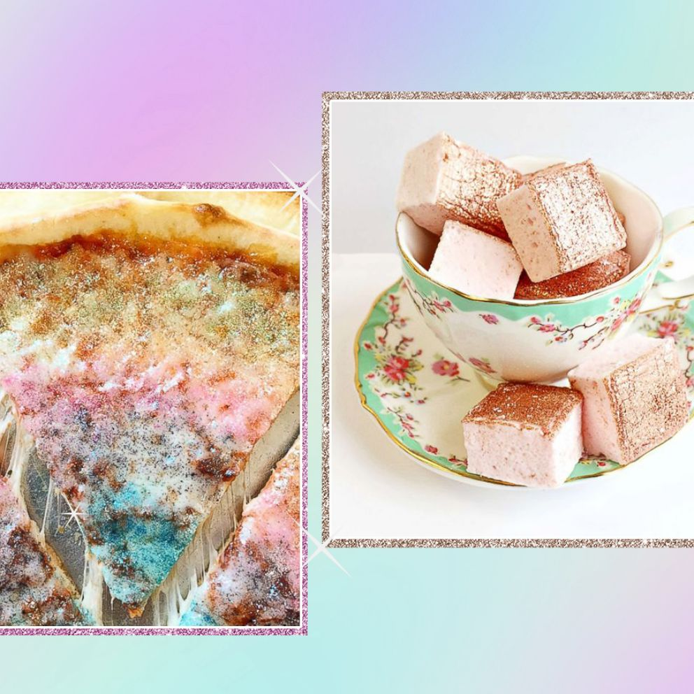 These glittery eats will make your Instagram feed sparkle | GMA
