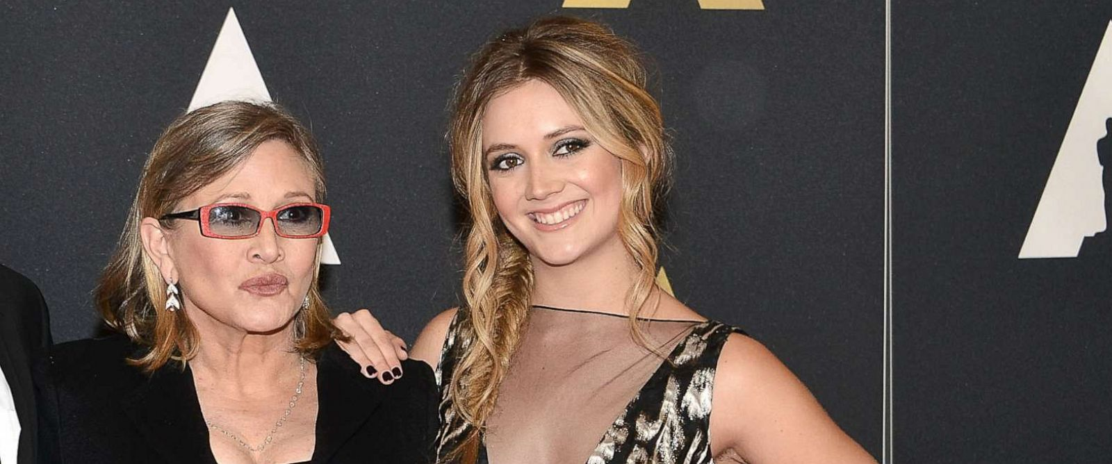 PHOTO: Carrie Fisher and her daughter Billie Lourd attend the Academy of Motion Picture Arts and Sciences' 7th Annual Governors Awards on Nov. 14, 2015 in Hollywood, Calif.