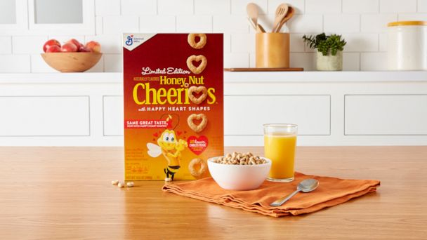 Cheerios adds heart shapes to cereal for first time in 40 years