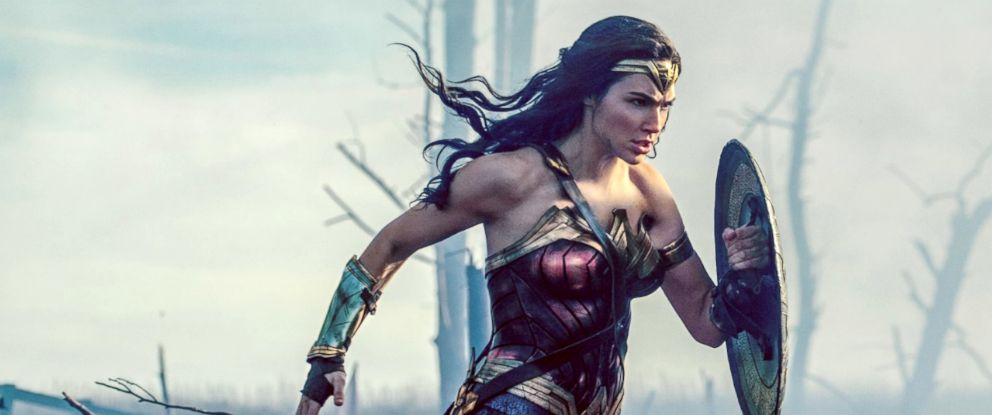 "PHOTO: Gal Gadot in ""Wonder Woman."""