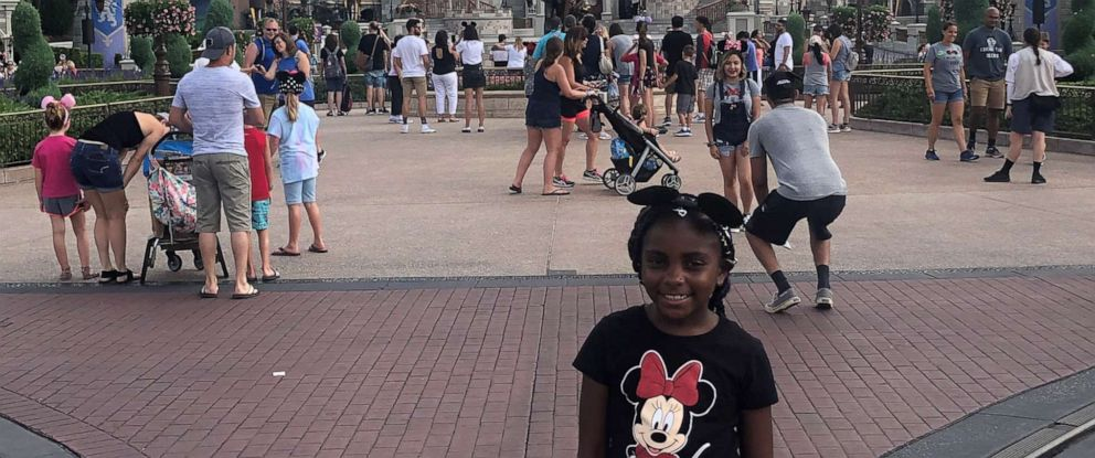 PHOTO: Jaidyn Faith Avant at the Magic Kingdom Park at the Disney World Resort in Florida.