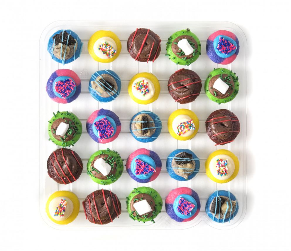 PHOTO: Sesame Street-inspired mini cupcakes from Baked by Melissa.
