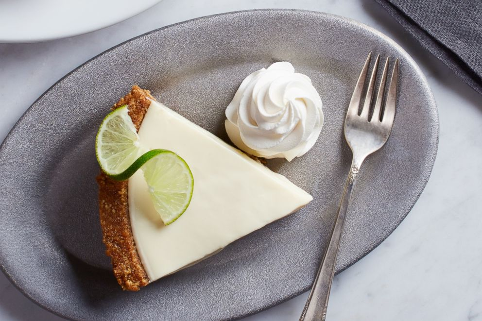 PHOTO: A slice of Key Lime pie from California Pizza Kitchen which will be a special on March 14 for Pi Day.