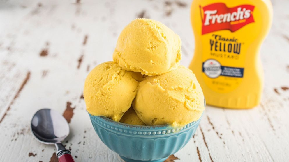 PHOTO: Frenchs partnered with Coolhaus to create yellow mustard ice cream.