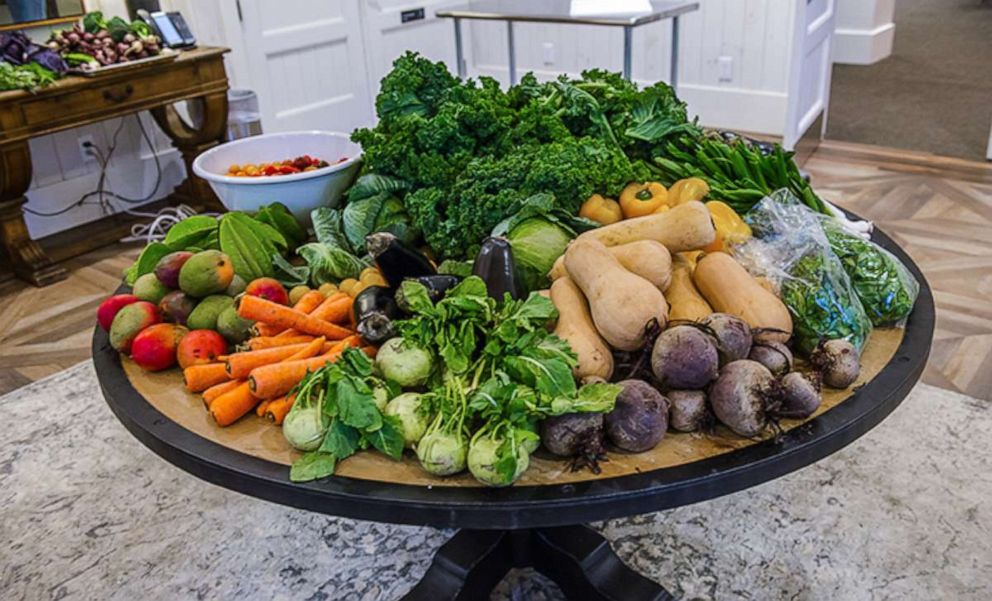PHOTO: Fresh produce provided to train chefs at the James Beard Foundation boot camp.
