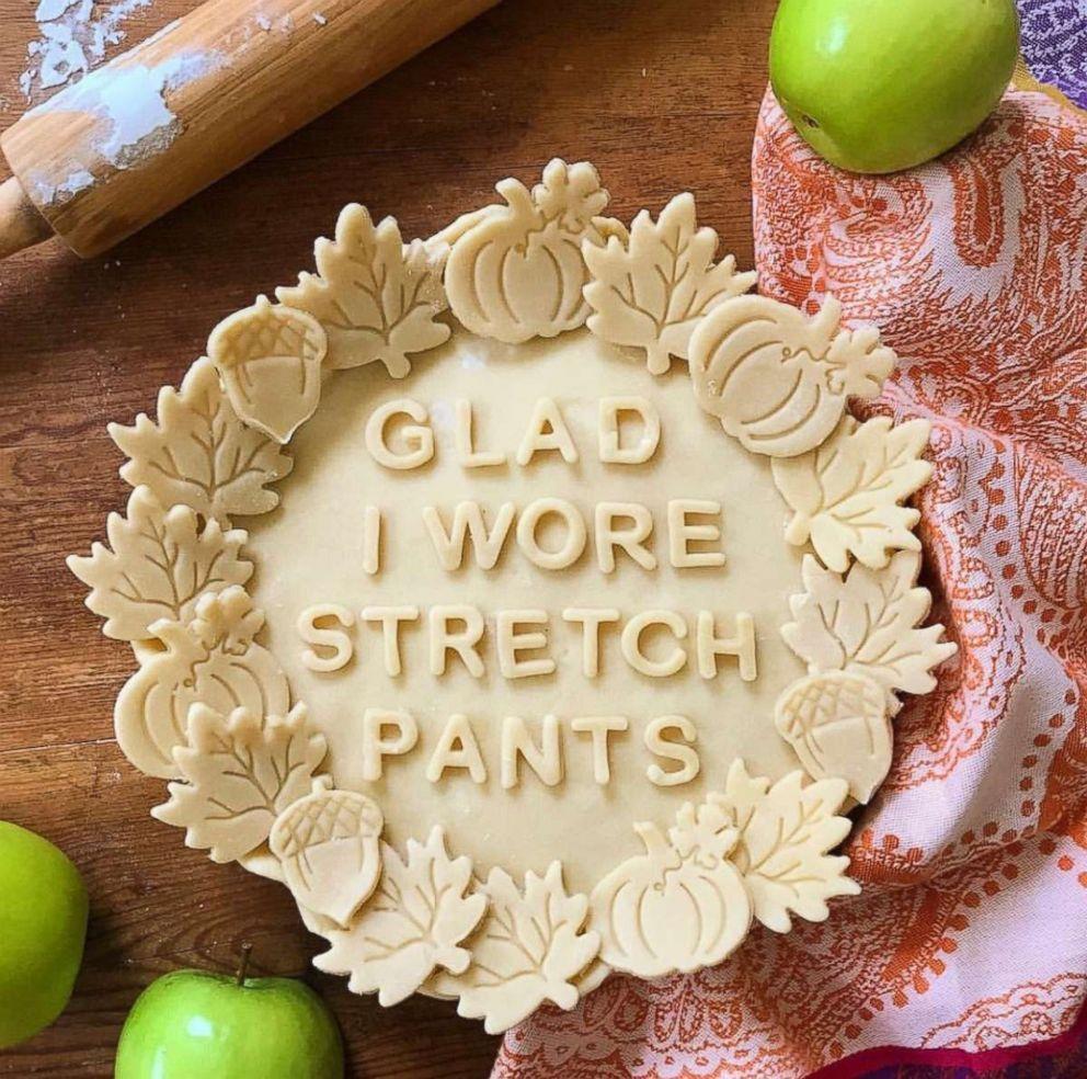 PHOTO: Marie Sabas Thanksgiving pie crust.