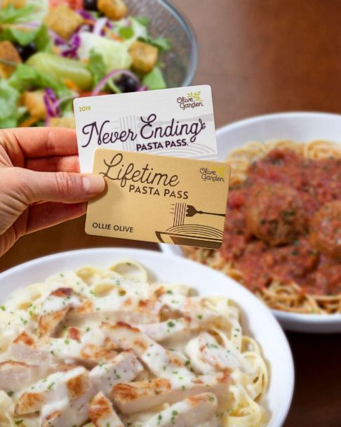Olive Garden Fans Can Snag An Exclusive Lifetime Pasta Pass For The First Time Ever Gma