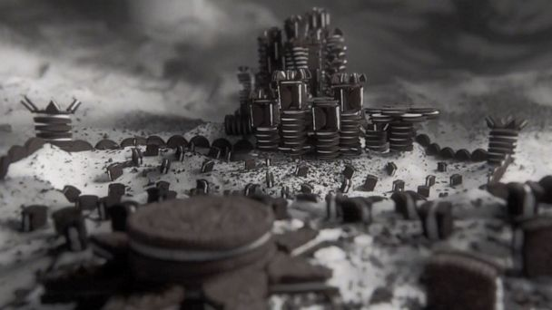 Oreo And Hbo Created A Game Of Thrones Title Sequence With Nearly