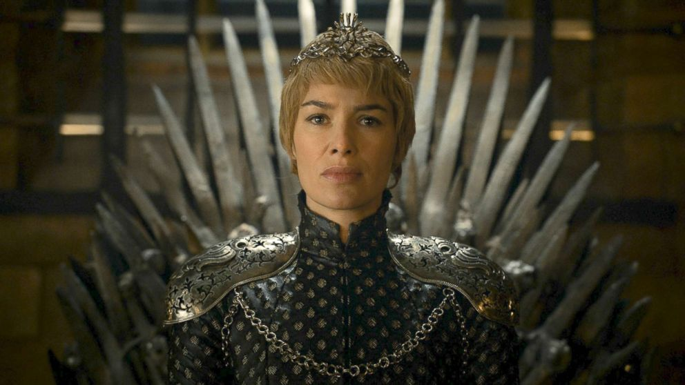 "Lena Headey appears as Cersei Lannister in a scene from ""Game Of Thrones."""