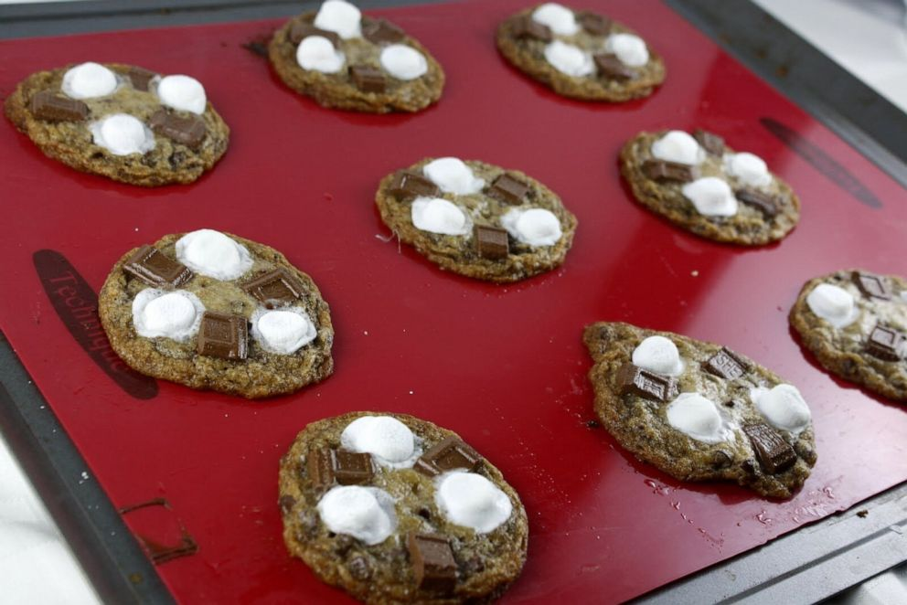 PHOTO: S'more Chocolate Chip Cookies from celebrity caterer Andrea Correale.