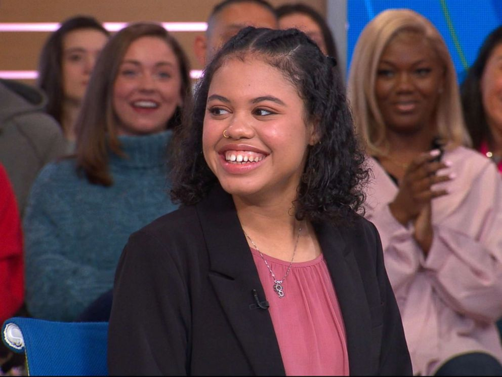 PHOTO: Haley Taylor Schlitz a 16-year-old who was accepted to nine law schools talks to Good Morning America, about her achievements in academics at such a young age.