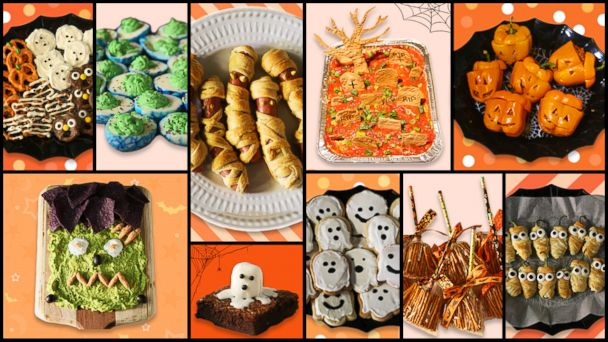 i made the top 10 pinterest halloween recipes of 2018 and they were spooktacular gma