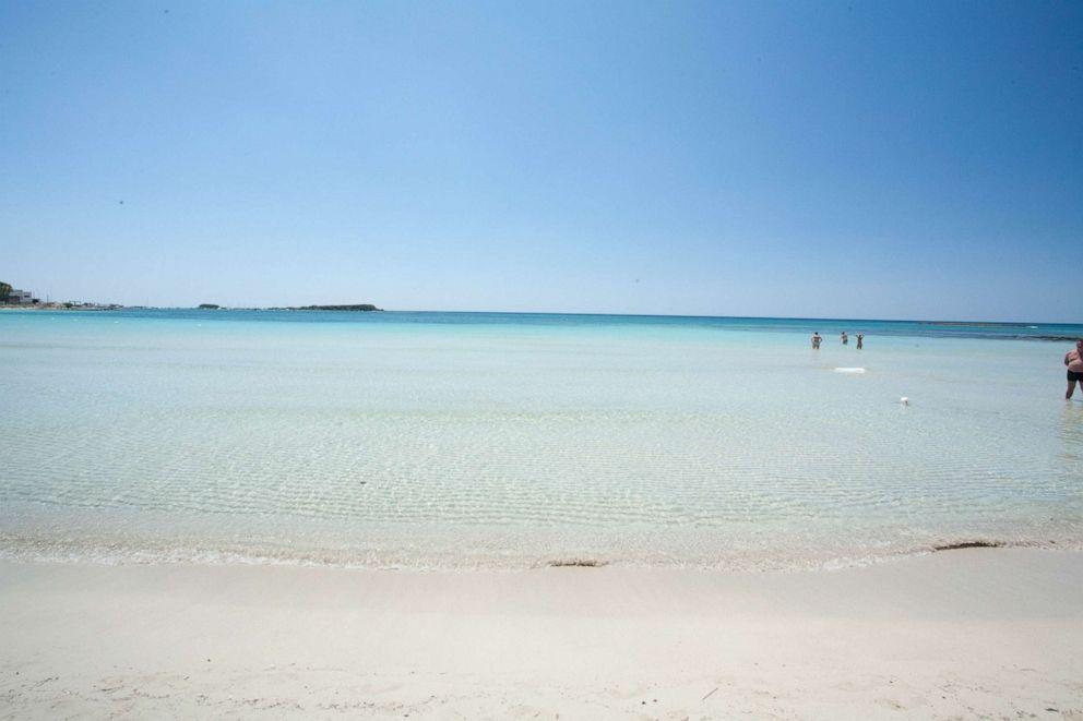 PHOTO: Beach at Hotel Blu, Porto Cesareo.