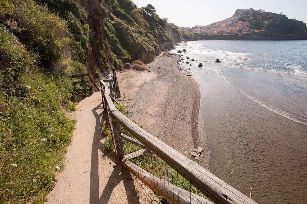 PHOTO: Beach at Hotel Pedraladda, Castelsardo.
