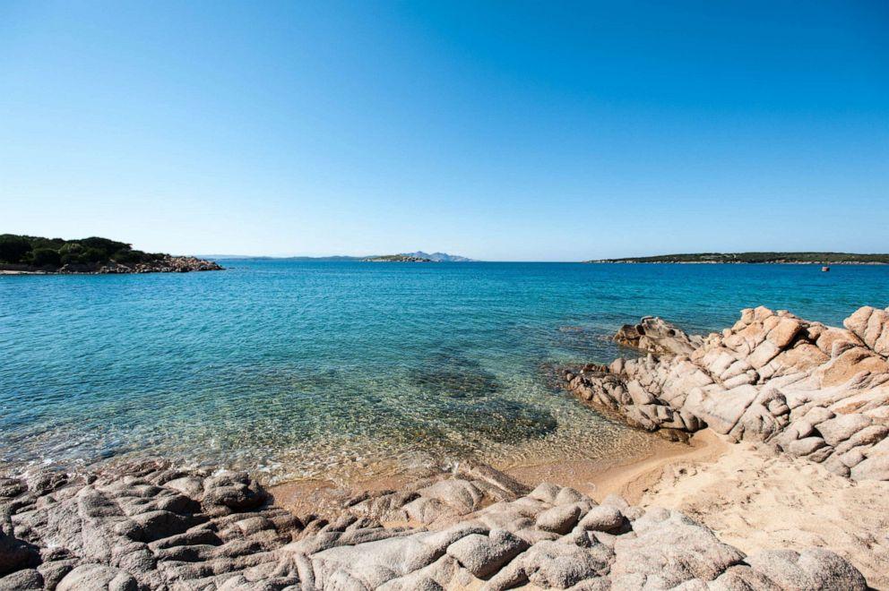 PHOTO: Beach at Hotel Pitrizza, a Luxury Collection Hotel Costa Smeralda, Porto Cervo.