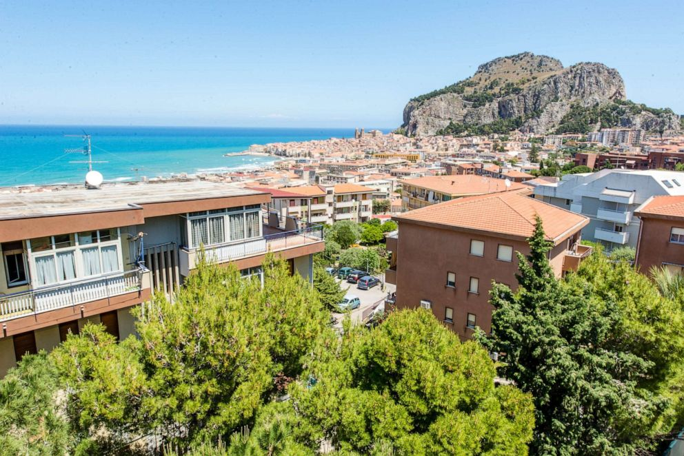 PHOTO: View from Hotel Villa Belvedere, Cefalu.