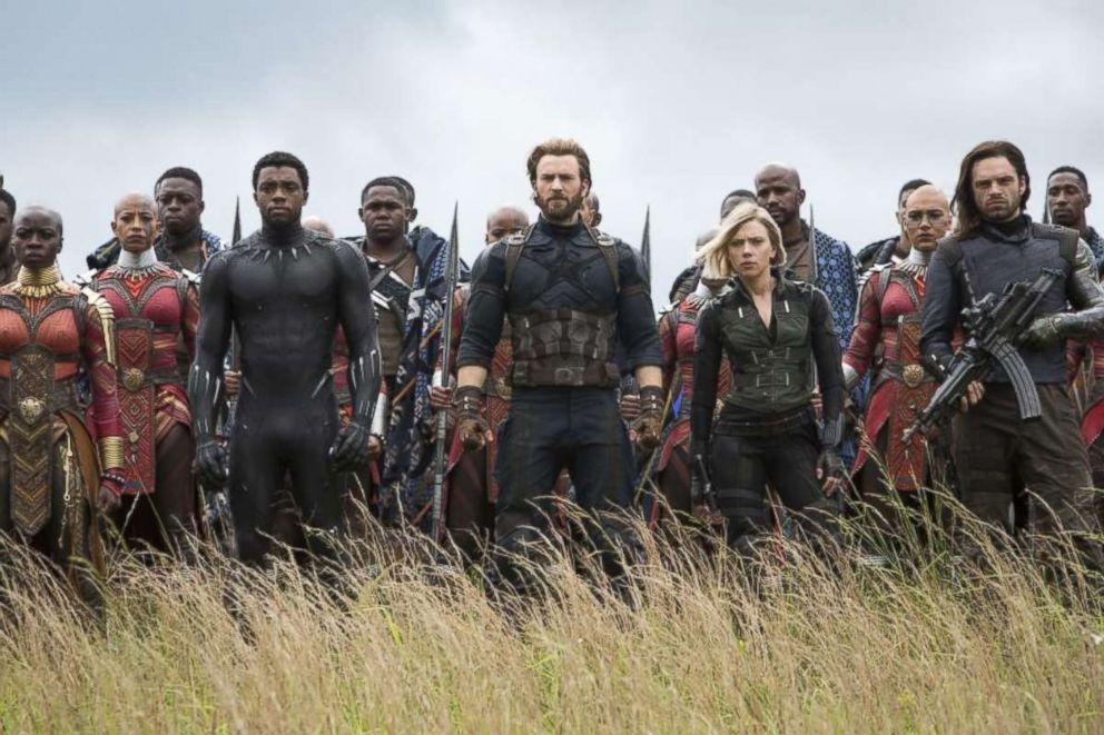 """A scene from Marvel's """"Avengers: Infinity War."""""""