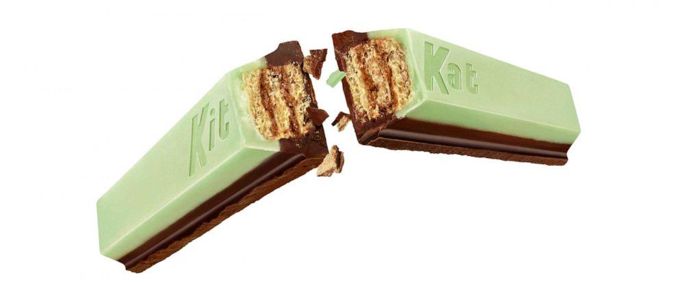 PHOTO: Kit Kat reveals a new mint dark chocolate flavor.