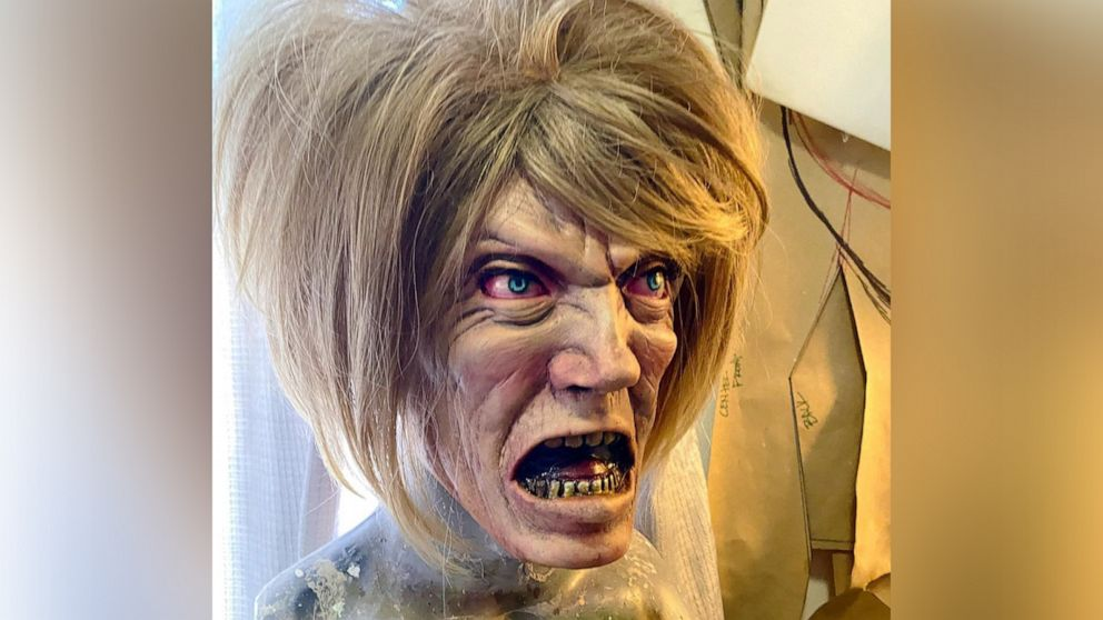 This 'Karen' mask is being called the scariest Halloween costume of 2020 thumbnail