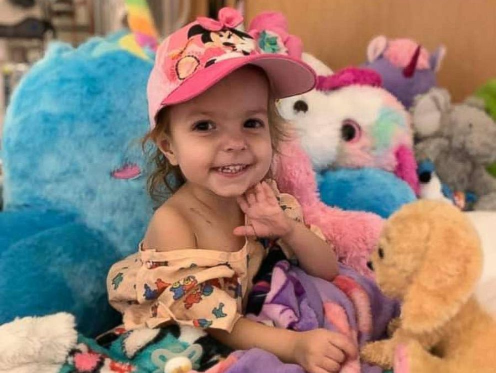 PHOTO: McKenna Shea Xydias, known to family and friends as Kenni, was diagnosed on Feb. 15, 2019 with Ovarian yolk sac tumor.