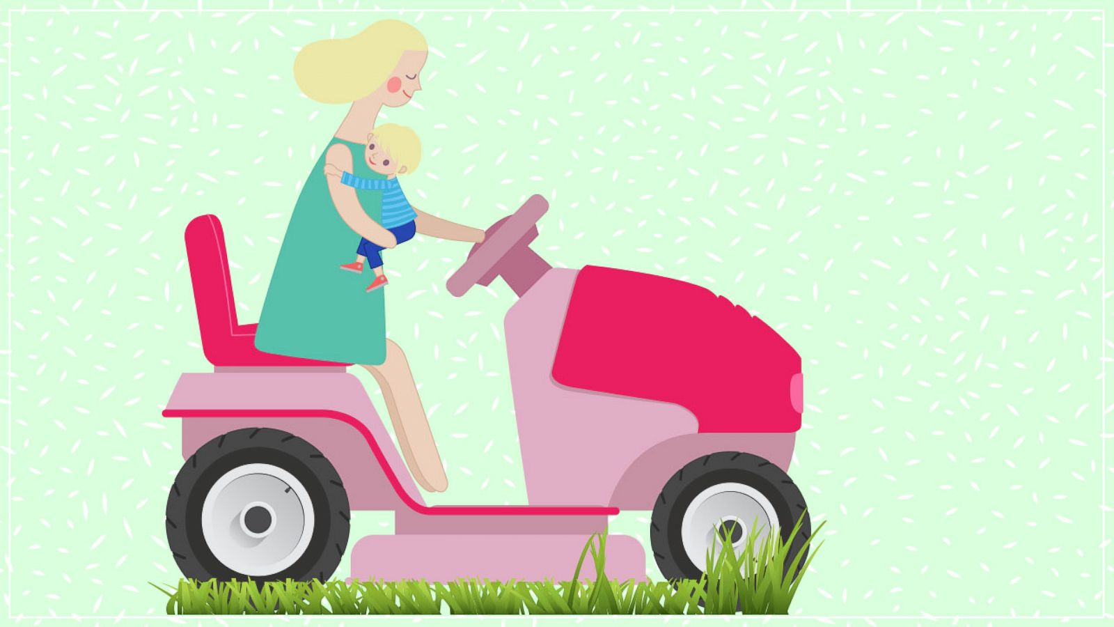 Sorry Tiger Moms Helicopter Parenting >> Move Aside Helicopter Moms Lawnmower Parents Are On The Rise Gma