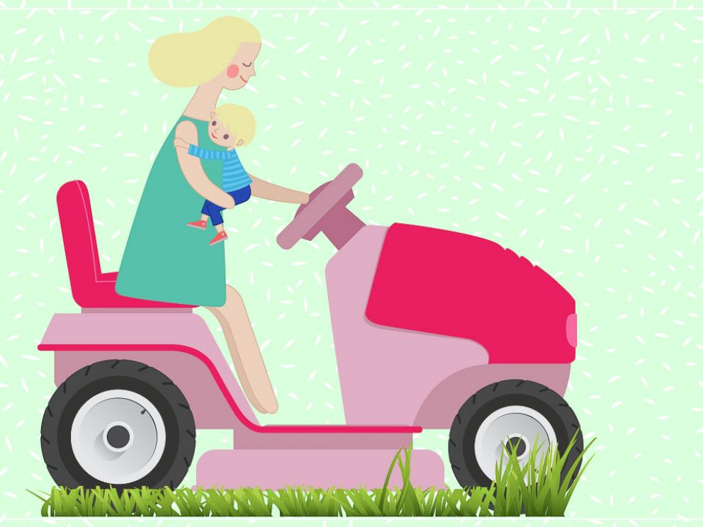 Move aside helicopter moms, lawnmower parents are on the