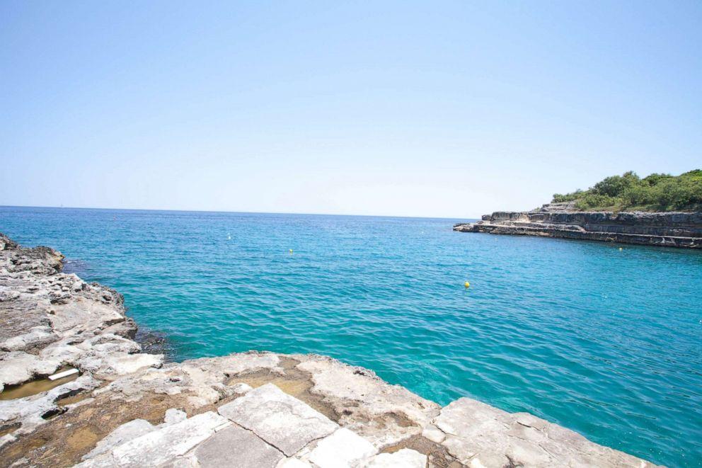 PHOTO: Beach at Le Cale dOtranto Beach Resort, Otranto.