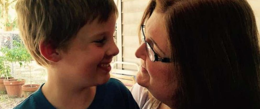 PHOTO: Leigh Merryday Porch and her son.