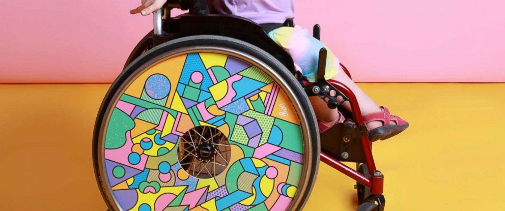 PHOTO: Lucy, Wheel design by Supermundane, Photo by Sarah Doyle