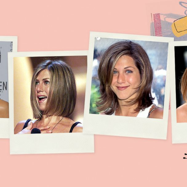 We Re Celebrating Jennifer Aniston S 50th Birthday And 5 Of Her Iconic Hairstyles Gma
