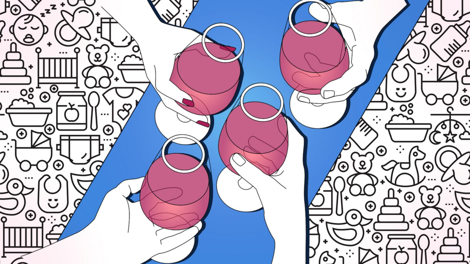 A pump-and-dump kind of day': How wine-mom culture shifted from