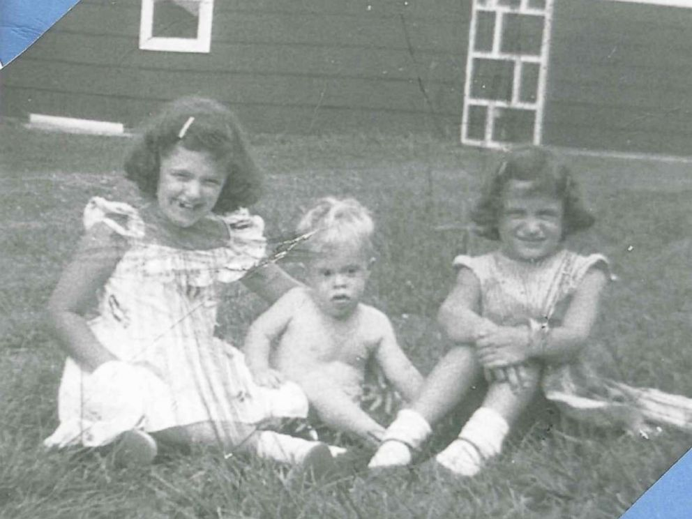 PHOTO: Michael Nawrocki and his sisters in 1959.