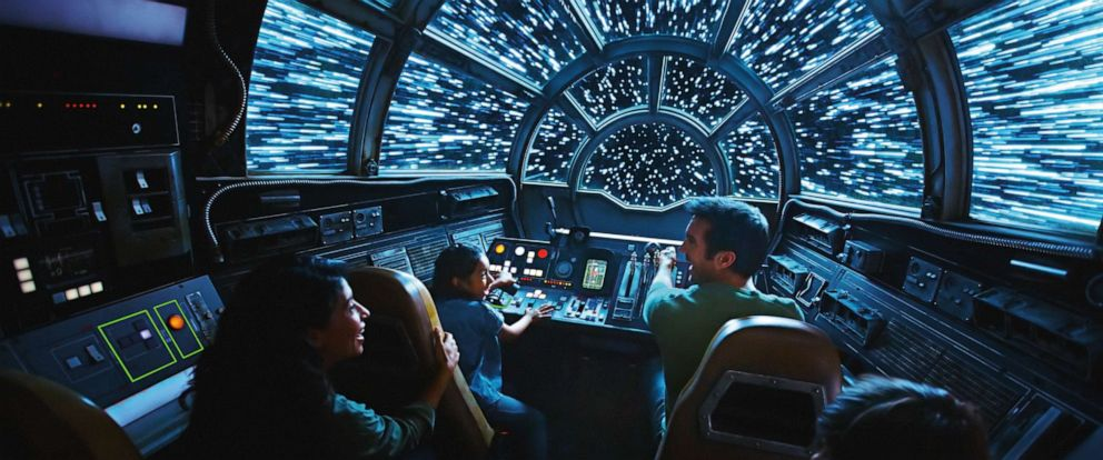 PHOTO: Millennium Falcon.