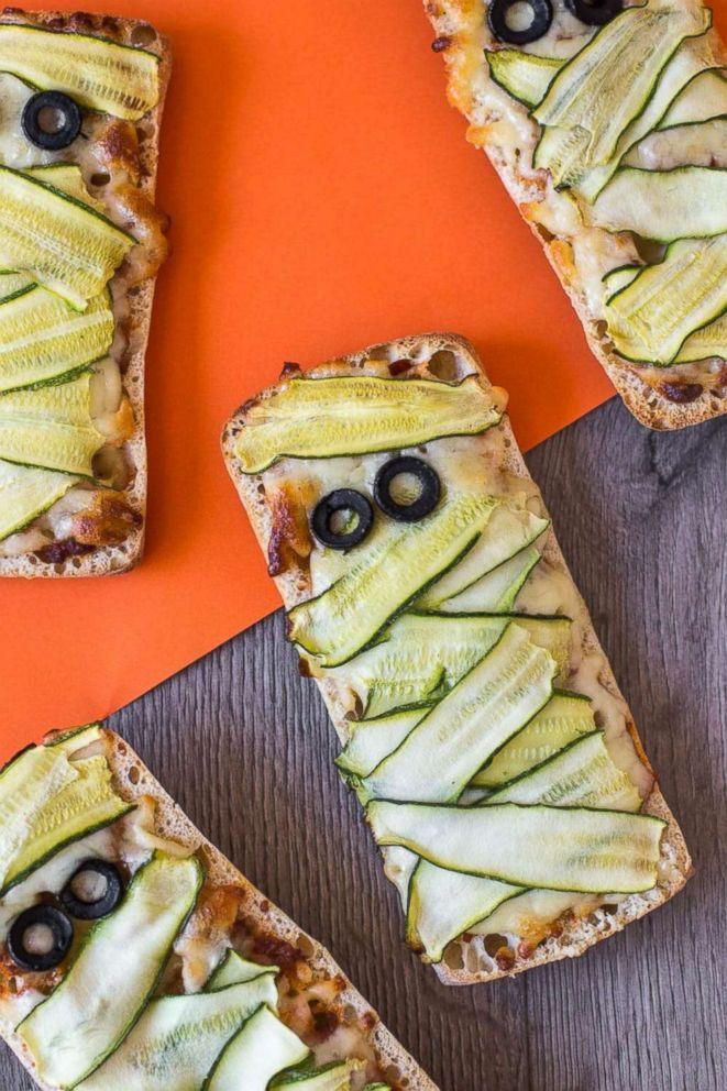PHOTO: Mummy Pizzas.