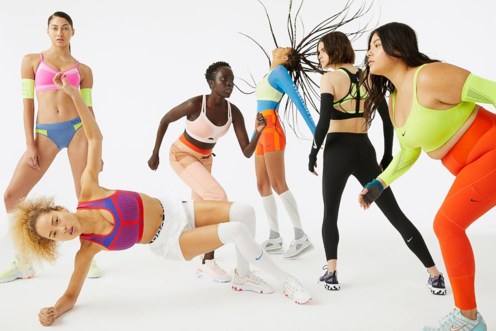 PHOTO: Nike is expanding their sports bra sizes.