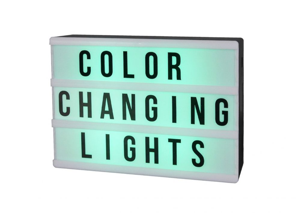 PHOTO: Novelty Light Box