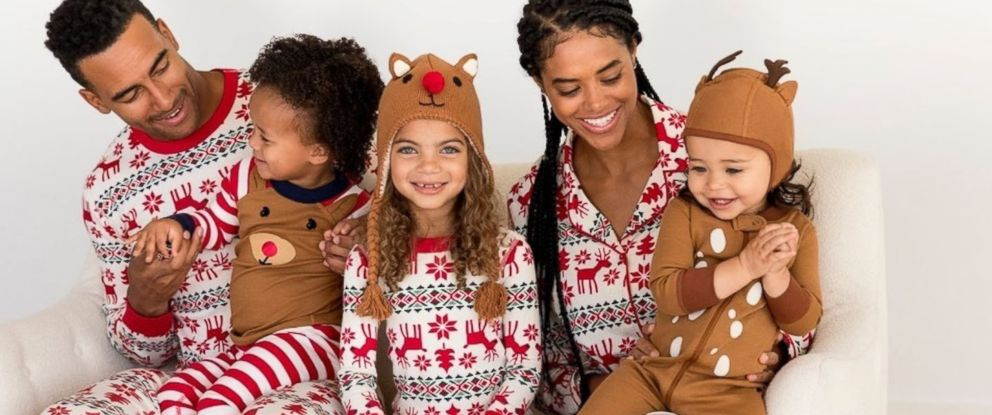 4ac6cfd0f1bc Where to find the best matchy-matchy family PJs this holiday season ...