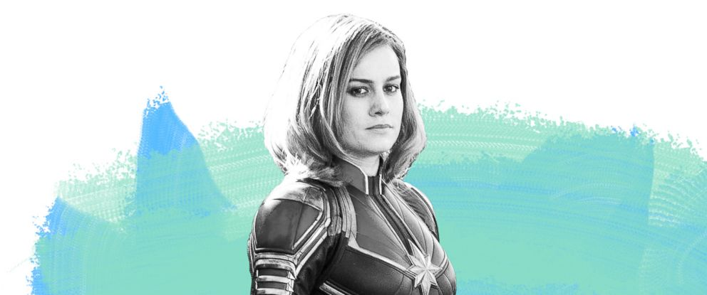 PHOTO: Brie Larson Captain Marvel