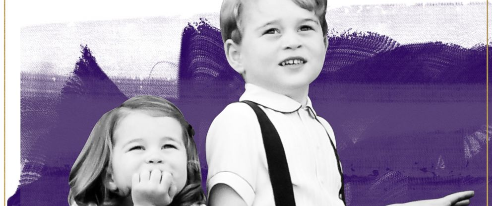 PHOTO: GMA Photo Illustration, Prince George and Princess Charlotte