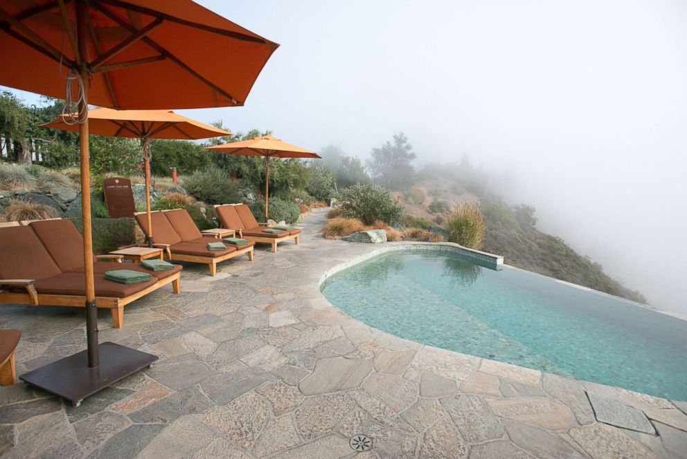 Pool at Post Ranch Inn in Big Sur.