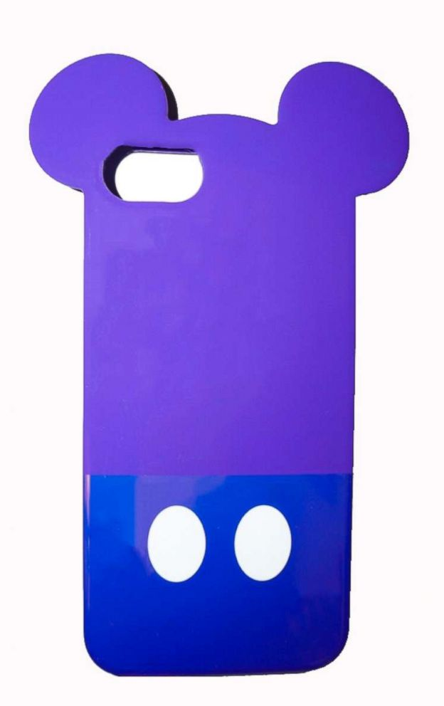 PHOTO: The Potion Purple Phone Case features Mickey ears and his signature buttons.
