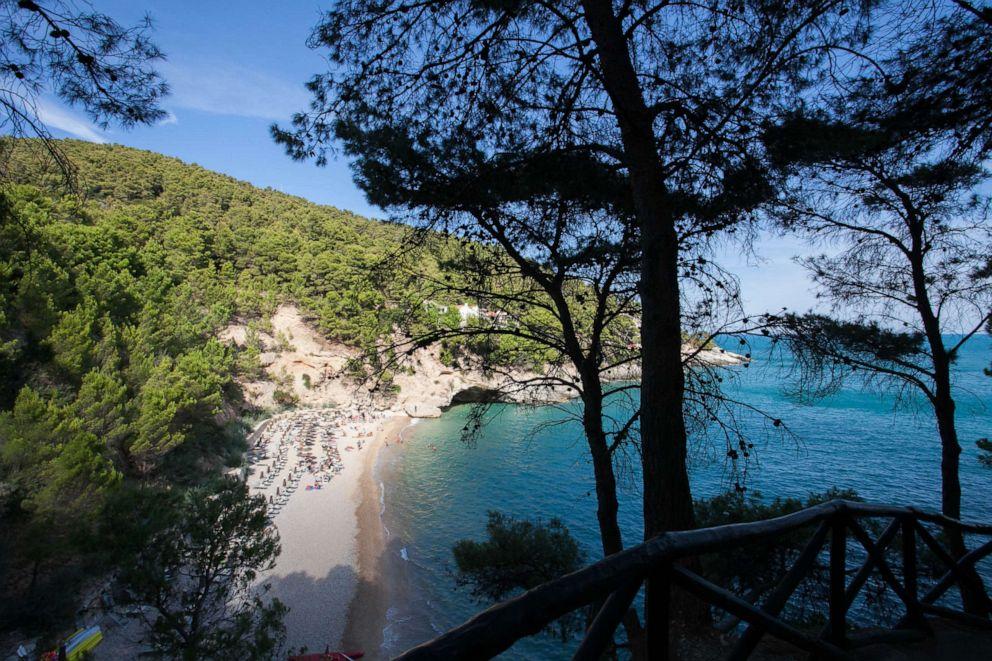 PHOTO: Porto Piatto Beach at Pugnochiuso Resort, Vieste.