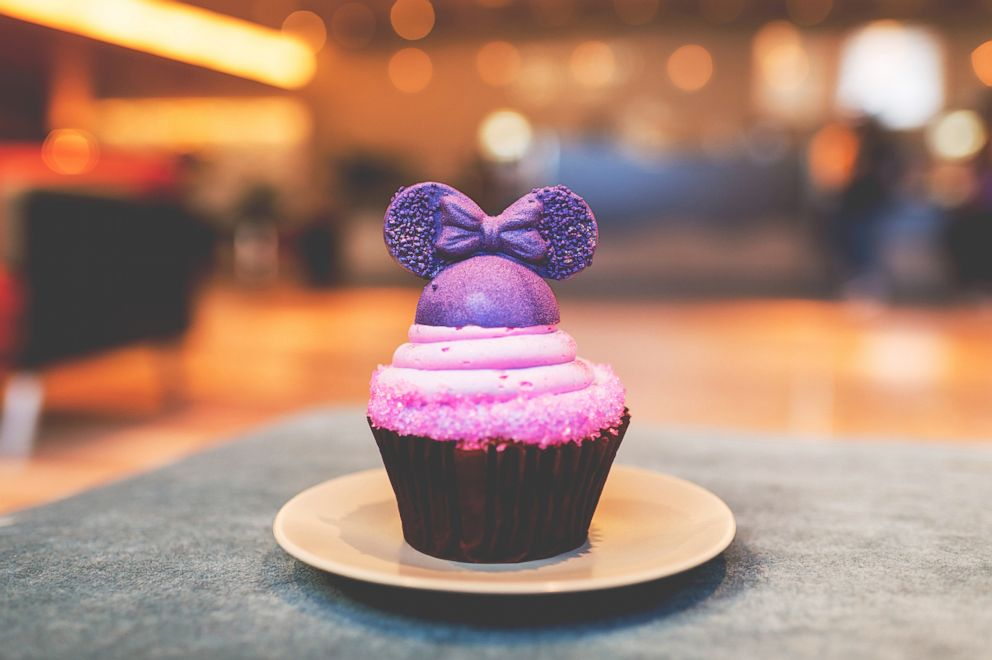 PHOTO: Purple Contempo Cupcake.