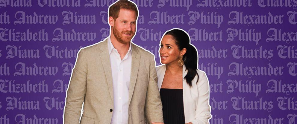 PHOTO: Royal Baby Names