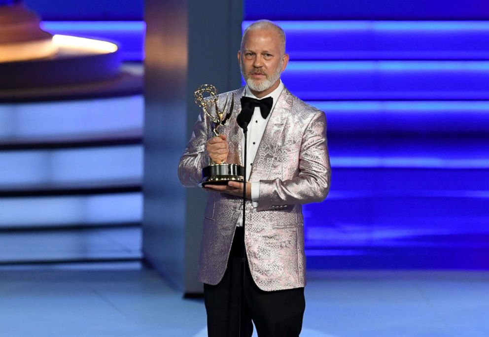 PHOTO: Ryan Murphy onstage during the 70th Emmy Awards at Microsoft Theater on Sept. 17, 2018 in Los Angeles.