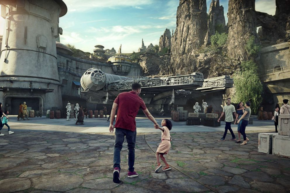PHOTO: Star Wars: Galaxys Edge will open in two phases St both Disneyland and Walt Disney World.